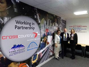 Newcastle College Rail Academy launch